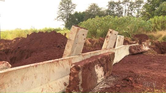 Concessionária volta a bloquear desvio de pedágio em estrada rural de Arapongas