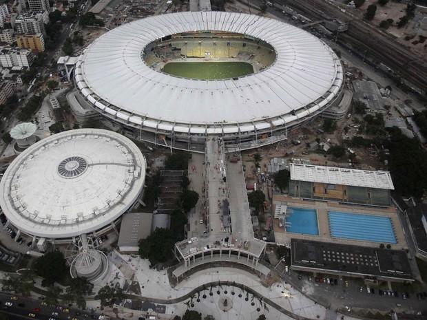 Maracanã recebe nesta quarta-feira o 2º jogo do Rio na Copa do Mundo (Foto: Ricardo Moraes/Reuters)