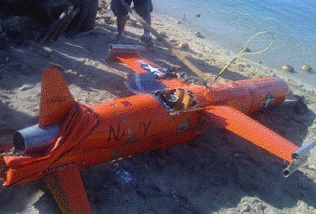 Drone americano foi encontrado no mar nas Filipinas (Foto: AP)