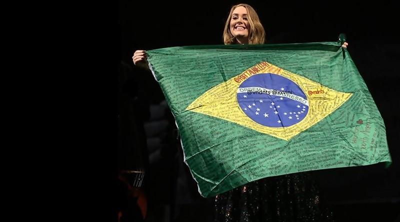 Adele refora promessa de que vai fazer shows no Brasil (Foto: Reproduo/Twitter)