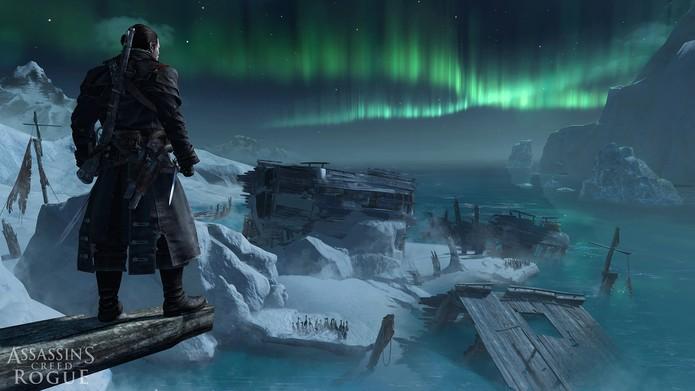 Assassins Creed Rogue tem novidades como templário (Foto: Divulgação/Ubisoft)