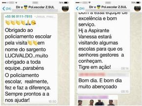 Whatsapp Vira Aliado Da Pm Para Reduzir Violência Em Escolas