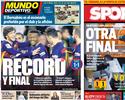 Jornais de Barcelona exaltam vaga na final e quebra de recorde da era Guardiola