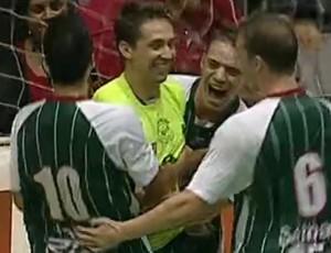 FRAME - Pindamonhangaba Corinthians futsal (Foto: Reprodução SporTV)