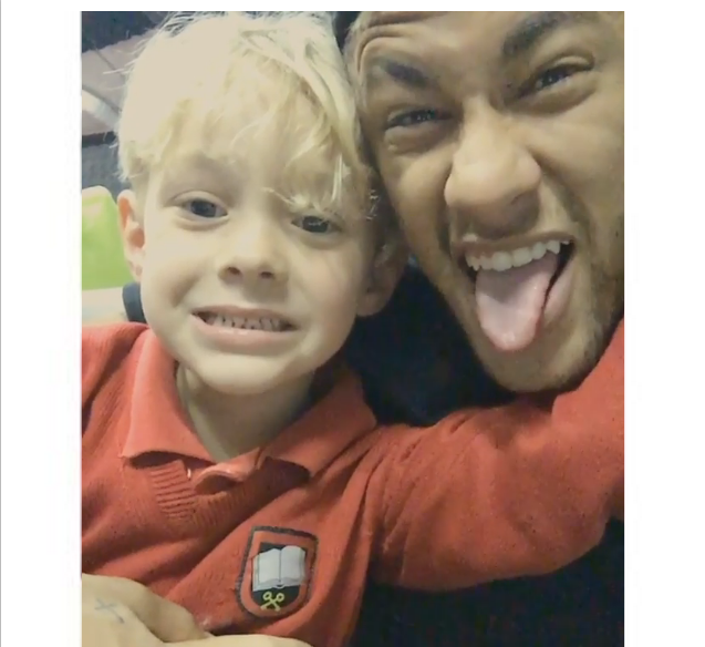 Neymar filho aplicativo