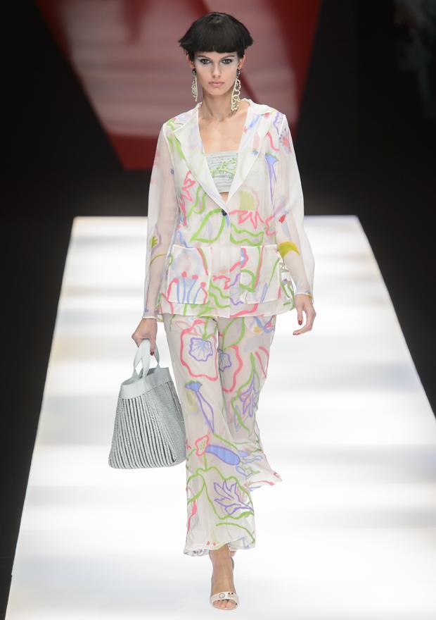 ed47ccb73b Semana de Moda de Milão: Armani aposta em pijamas de luxo, veja toda ...