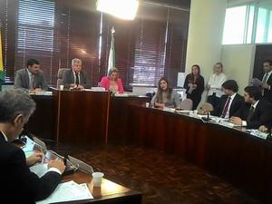 Comissão de Constituição e Justiça (CCJ) se reuniu nesta quarta-feira (16) (Foto: Alep / Divulgação)
