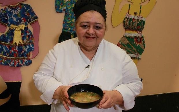 Mujica de Tambaqui é a última delícia da série 'Receitas Juninas' (Foto: Katiúscia Monteiro/ G1 AM)