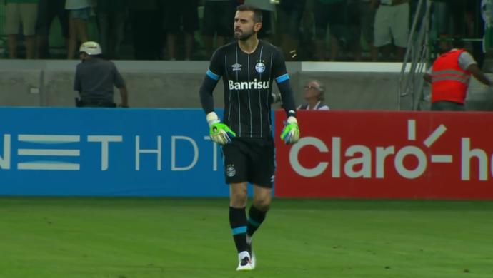 Bruno Grassi goleiro Grêmio  (Foto: Reprodução)