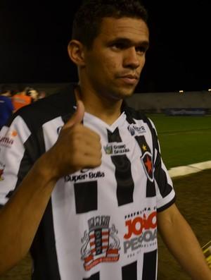 João Paulo, Botafogo-PB (Foto: Amauri Aquino / GloboEsporte.com)