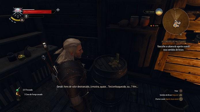 The Witcher 3 tem sistemas de criação de itens e equipamentos (Foto: Reprodução/Felipe Vinha)