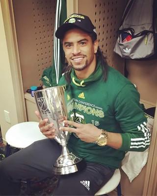 Capixaba Jeanderson Salvador foi campeão da MLS pelo Portland Timbers (Foto: Divulgação/Arquivo Pessoal)