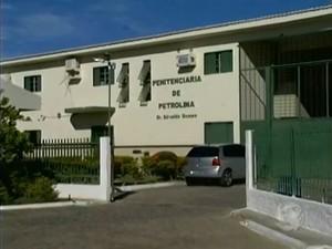 Penitenciária Dr. Edvaldo Gomes em Petrolina, PE (Foto: Reprodução/TV Grande Rio)