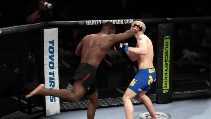 EA Sports UFC (Foto: Reprodução / TechTudo)