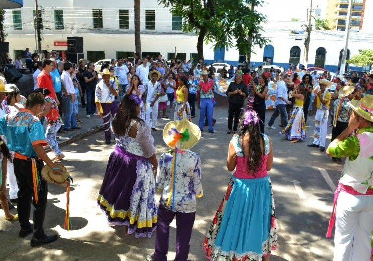 Festival de Siriri e Cururu chega à 12ª edição em Cuiabá (Foto: Michel Alvim/Secom Cuiabá)