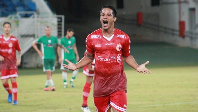 Daniel Morais Alecrim x América-RN (Foto: Fabiano de Oliveira/GloboEsporte.com)