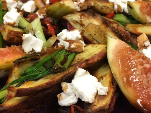 Salada de Batata-Doce e Figo