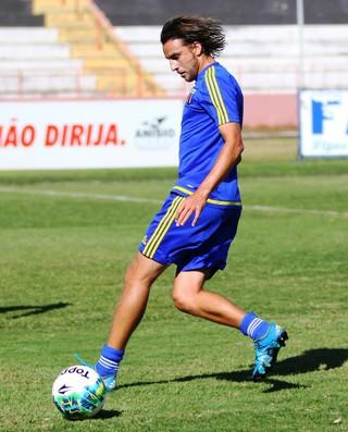 Zotti, meia do Botafogo-SP (Foto: Luis Augusto/Ag. Botafogo)