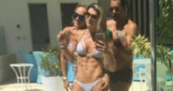 Mirella Santos mostra o seu tanquinho em dia na piscina (Reprodução/Instagram)