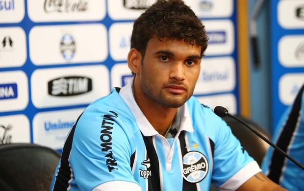 Willian josé é apresentado no Grêmio (Foto: Lucas Uebel/Divulgação, Grêmio)
