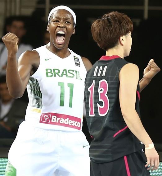 missão cumprida (Divulgação/FIBA)