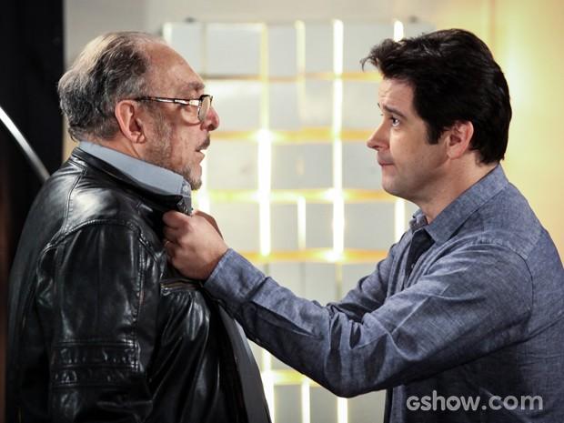 Jonas tem visão com Jack e se desespera (Foto: Camila Camacho/TV Globo)