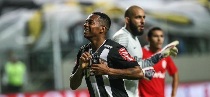 Robinho; Atlético-MG (Foto: Bruno Cantini/CAM)