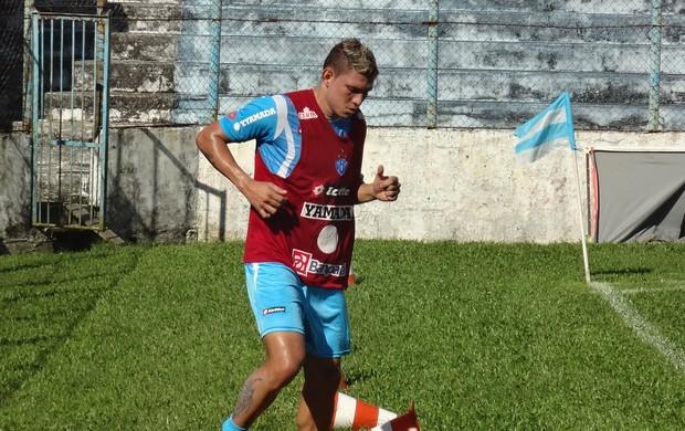 Rafael Oliveira trabalhou fisicamente (Foto: GLOBOESPORTE.COM/PA)