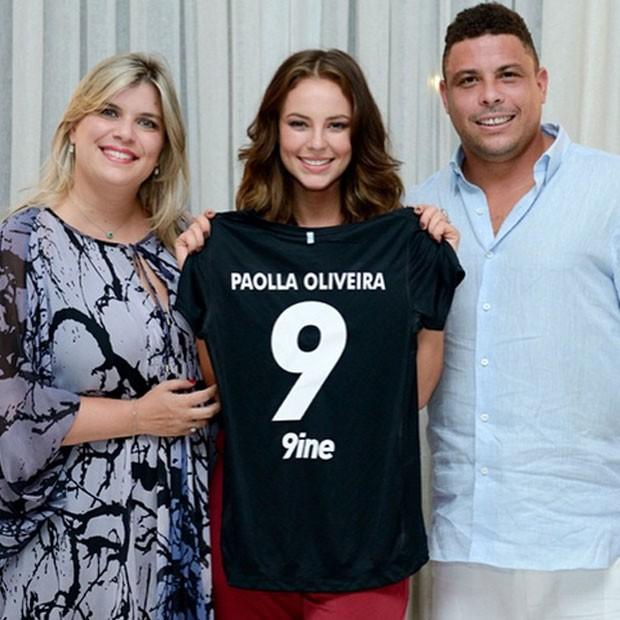 PAOLLA OLIVEIRA É A NOVA CONTRATADA DA AGÊNCIA DE RONALDO FENÔMENO (Foto: Reprodução/Instagram)