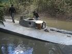 Submarino que transportaria drogas será rebocado para Belém, diz polícia