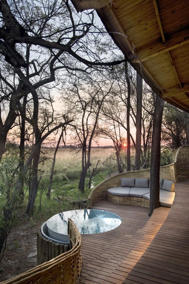 Hotel na África é destino certo para ver animais em seu habitat natural (Foto: Dook/Divulgação)