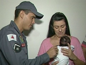 Bebê Salvo Ituiutaba (Foto: Reprodução / TV Integração)