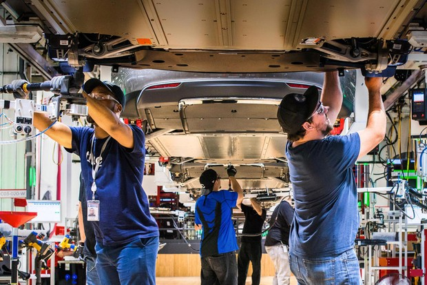 Fábrica da Tesla em Freemont, Califórnia (Foto: Divulgação)