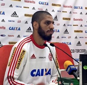 Wallace, Flamengo (Foto: Cahê Mota)