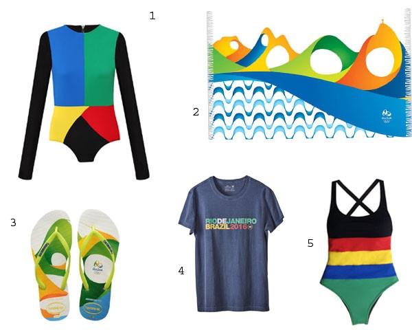 Entre no clima das olimpíadas com cores alegres e marcantes (Foto: Divulgação)