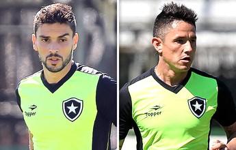 Pimpão ou Canales? Jair tem dúvida no ataque do Bota contra Corinthians