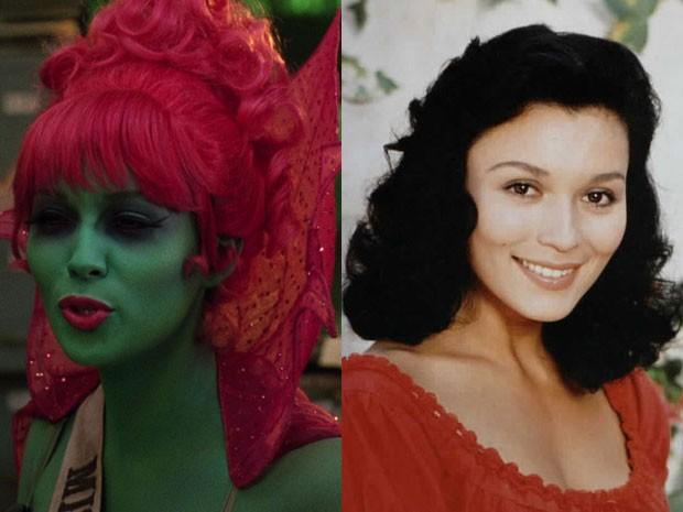 Patrice Martinez em 'Os fantasmas se divertem' e 'Zorro' (Foto: Divulgação)
