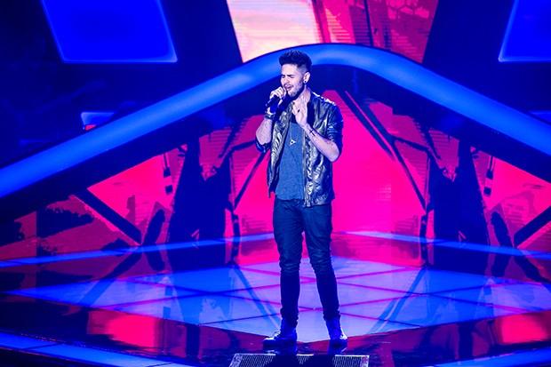 Leandro Buenno palco Audição 4 (Foto: Isabella Pinheiro/Gshow)