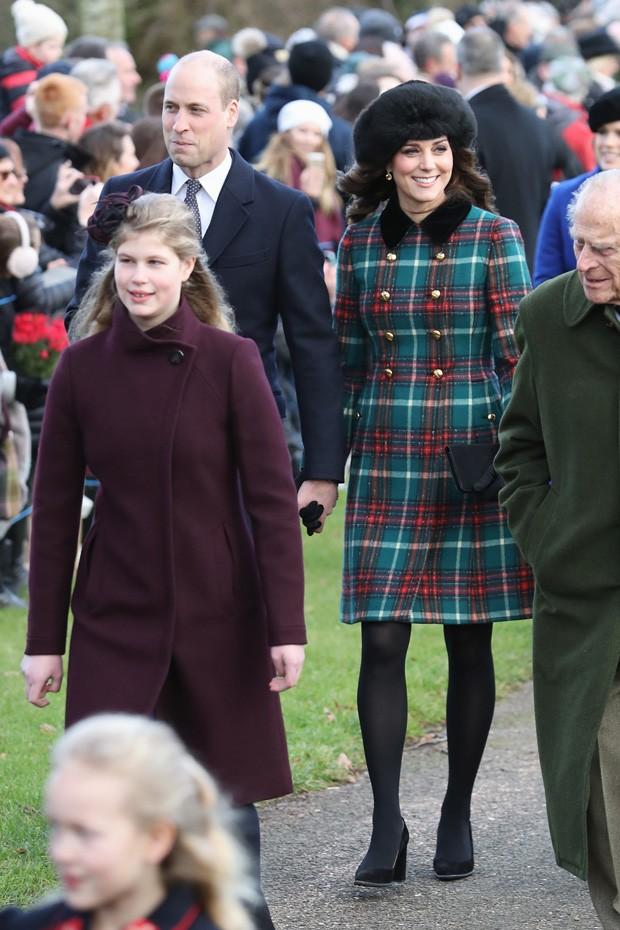 Príncipe William e Kate Middleton, grávida do terceiro filho (Foto: Getty Images)