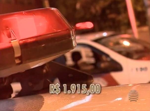Polícia Militar realiza fiscalização e condutores podem ser multados (Foto: Reprodução/TV Fronteira)