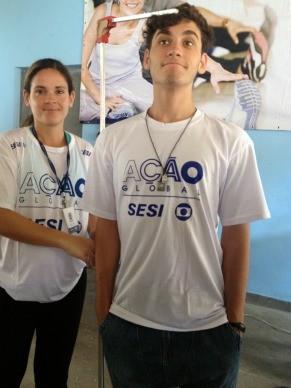 Guilherme Prates quer saber sua altura certa (Foto: Patrícia Kalil)