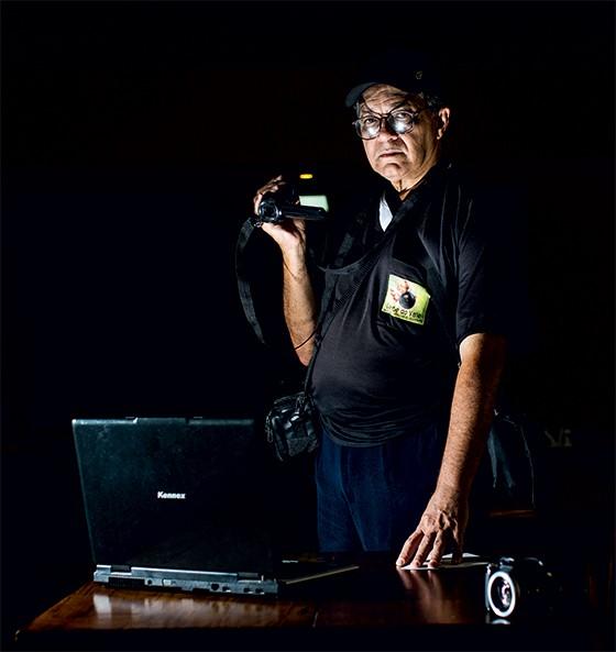 Valseque Bomfim, blogueiro que publicava notícias policiais (Foto: Leo Drumond/Nitro/Época)