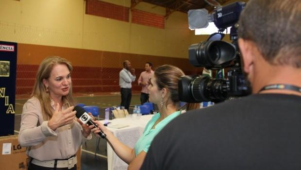 Trabalho da professora Vera deu voz à comunidade escolar (Foto: Divulgação/RPCTV)