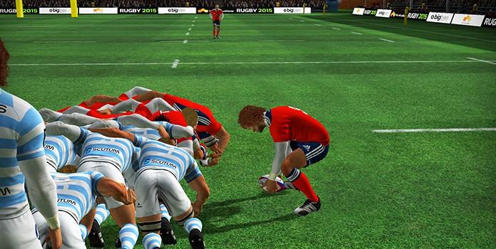 Pouco popular por aqui, o esporte ainda conta com um game ruim (Foto: Reprodução)