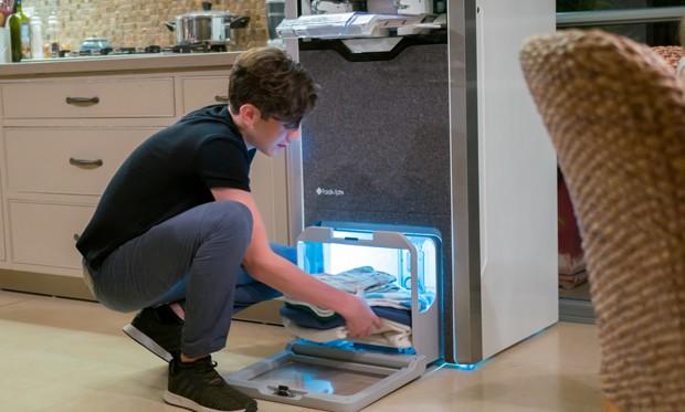 Máquina dobra roupas para você em poucos segundos (Foto: Divulgação)