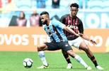 Grêmio fica no 0 a 0 com Furacão e perde chance de  se aproximar do Timão (Wesley Santos/Agência PressDigital)