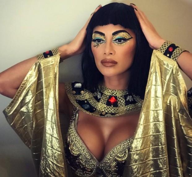 Nicole Scherzinger fantasiada de Cleópatra (Foto: Reprodução/Instagram)