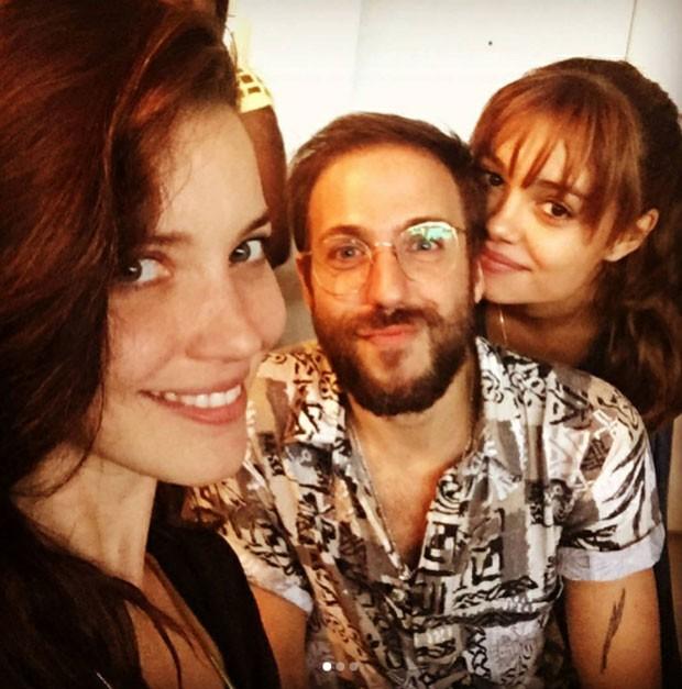 Nathalia Dill, Rael Barja e Sophie Charlotte   (Foto: Reprodução)