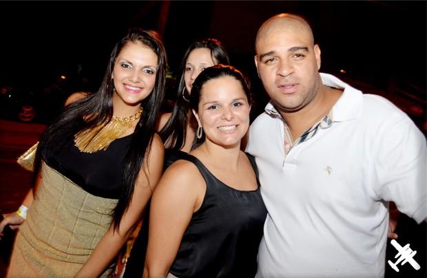 Adriano em Itaipava (Foto: Gustavo Fonseca / Divulgação)