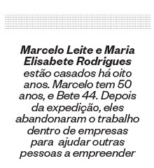 Marcelo Leite e Maria Elisabete Rodrigues (Foto: ÉPOCA)